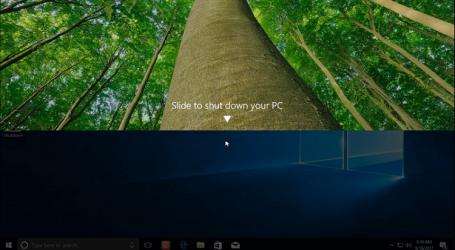 Hướng dẫn kích hoạt tính năng Slide To Shutdown trên Windows 10