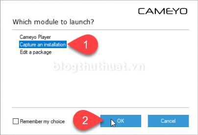 Tạo phiên bản Portable cho phần mềm bằng Cameyo