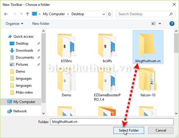 Cách viết tên lên thanh Taskbar trên windows