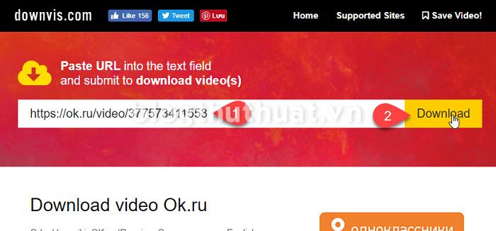 Hướng dẫn download video trên ok.ru chi tiết