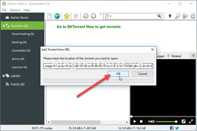 how to download magnet links with utorrent mac