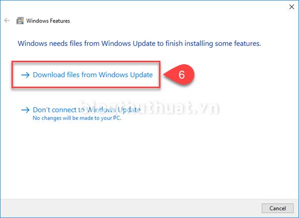 Sửa lỗi ứng dụng báo thiếu Net Framework 3.5