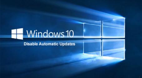Cách tắt tự động update trên Windows 10