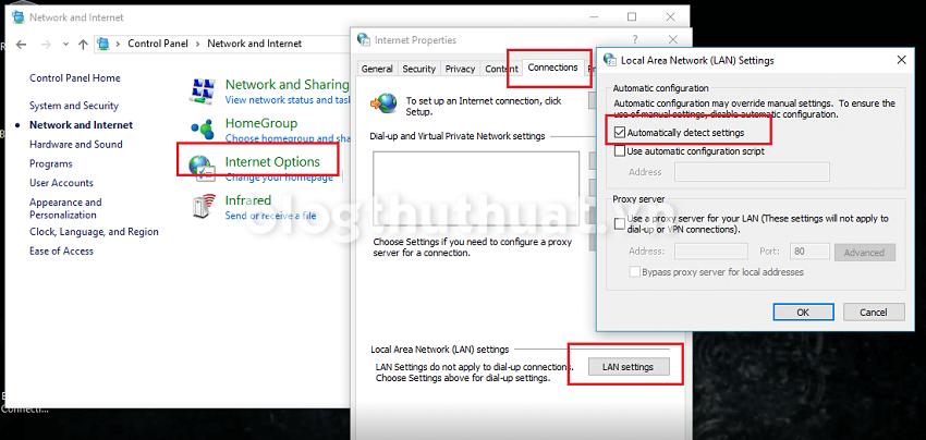 Sửa lỗi ERR_NETWORK_CHANGED trình duyệt Chrome